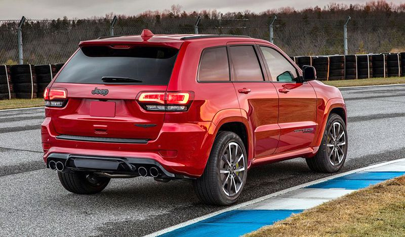 2019 Jeep Srt8 Lease Horsepower Grand Cherokee Price