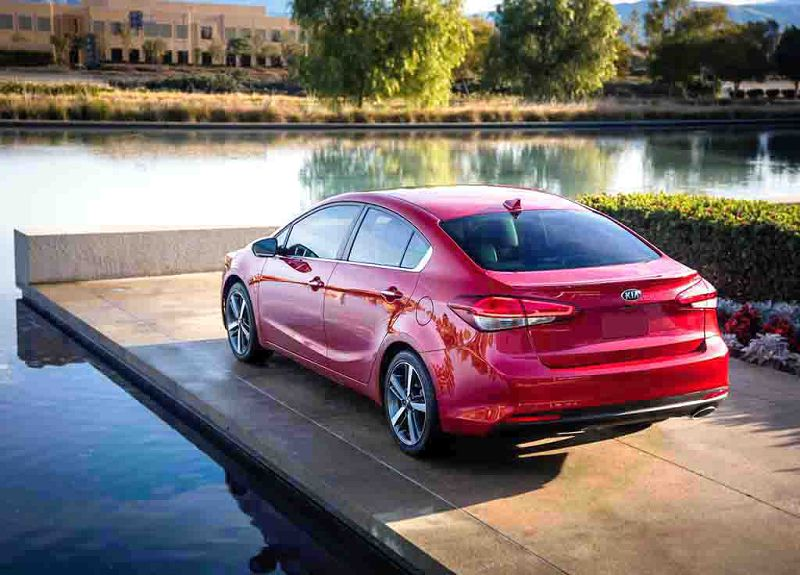 2019 Kia Forte Red Rim Size Sedan