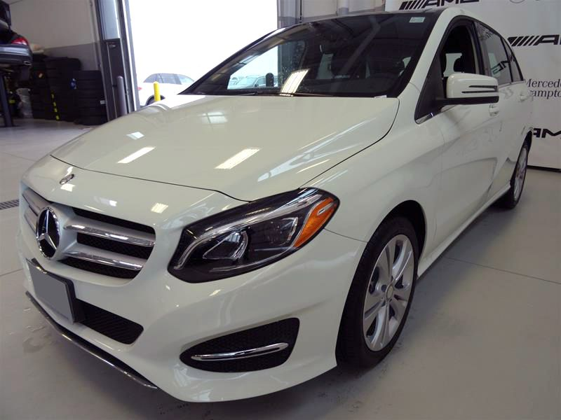 2019 Mercedes B Class Electric Range New Trunk Space