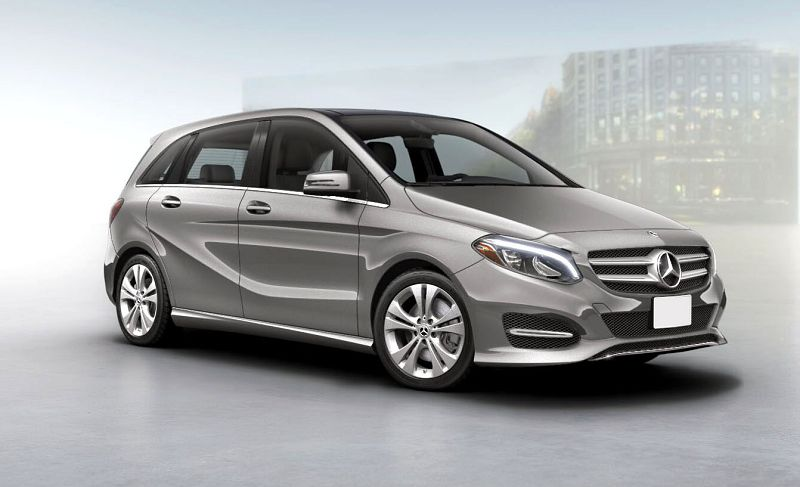 2019 Mercedes B Class Spare Wheel Suv Size