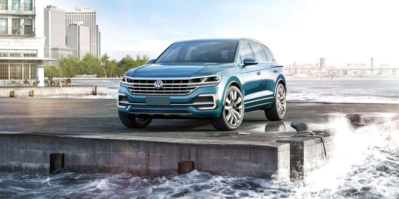 2019 Volkswagen Touareg Spare Tire Towing R Line