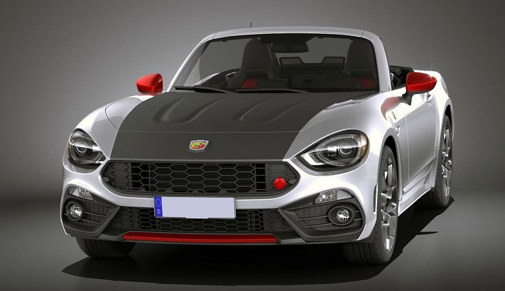 2019 abarth 124 spider remap red roadster. Black Bedroom Furniture Sets. Home Design Ideas