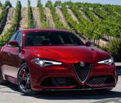 2019 Alfa Romeo Giulia Sedan Review Red Rwd