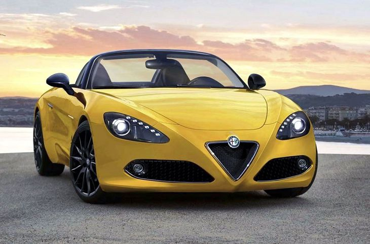 2019 Alfa Romeo Spider 8c 4c Price Used