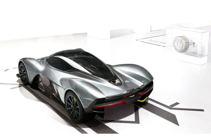 2019 Aston Martin Valkyrie 3d Model Interior Wallpaper