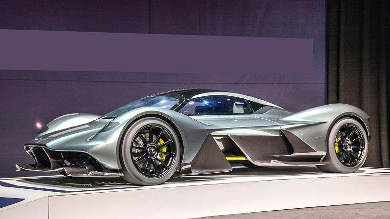 2019 Aston Martin Valkyrie Acceleration Aerodynamics Aero