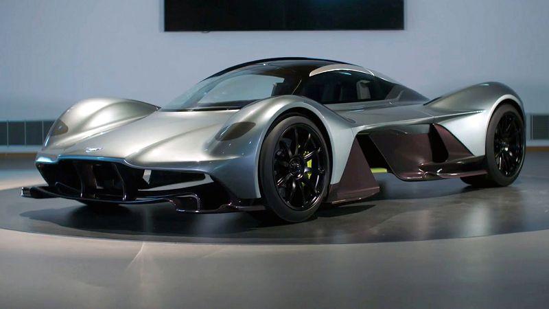 2019 Aston Martin Valkyrie Diffuser Diecast Drivetrain