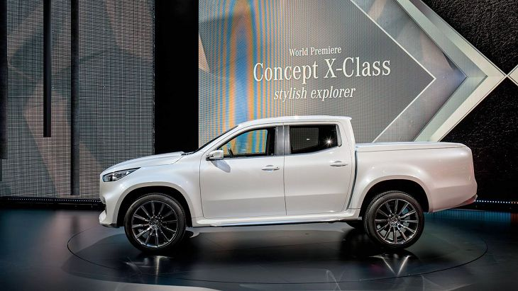 2019 Mercedes X Class Truck Price Usa Concept Pickup