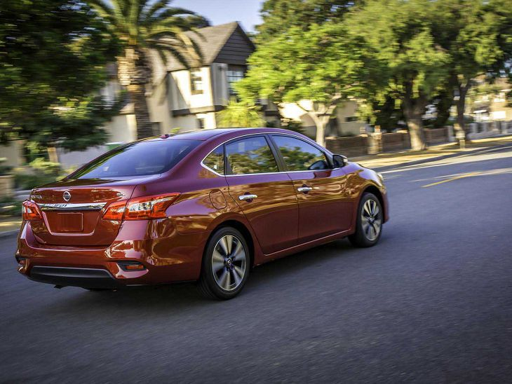 2019 Nissan Sentra Models Length Vs Honda Civic