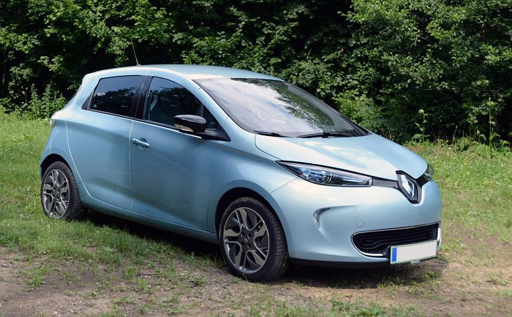 2019 Renault Zoe Quick Charge Q210 Q90 Vs R90