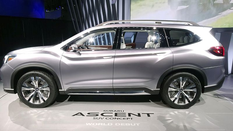 2019 Subaru Ascent Review Reward Card Price Canada ...