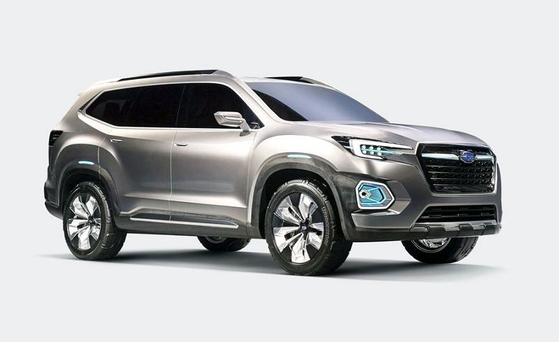 2019 Subaru Ascent White When Available Wiki