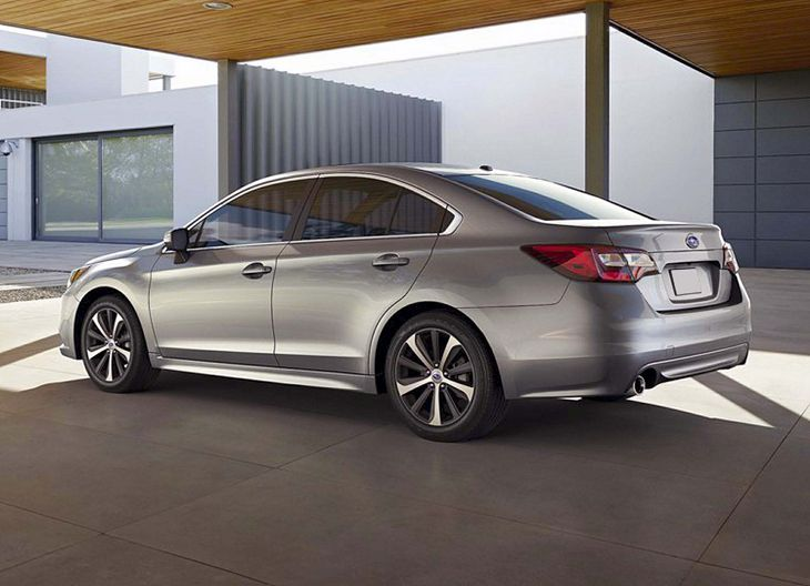 2019 Subaru Legacy Exhaust Mpg Interior