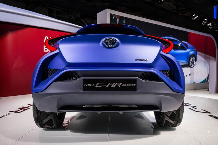 Brands New 2019 Toyota Chr Trd Great Crossover Suv Exterior And