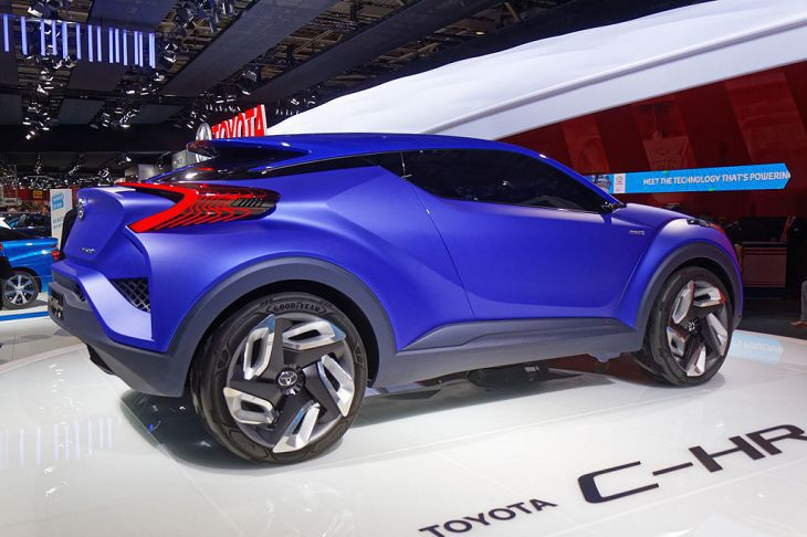 2019 Toyota Chr Review Engine Dimensions