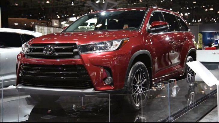 2019 Toyota Highlander Black Canada Cost