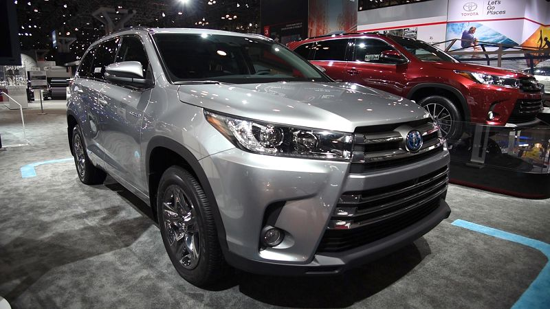 2019 Toyota Highlander Photos Preview Review