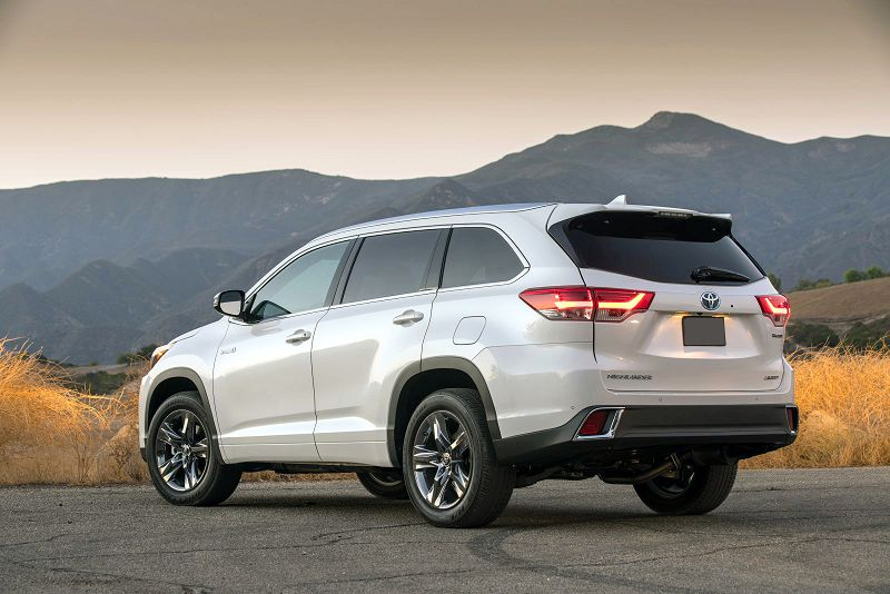 2019 Toyota Highlander Se Sport Towing Capacity