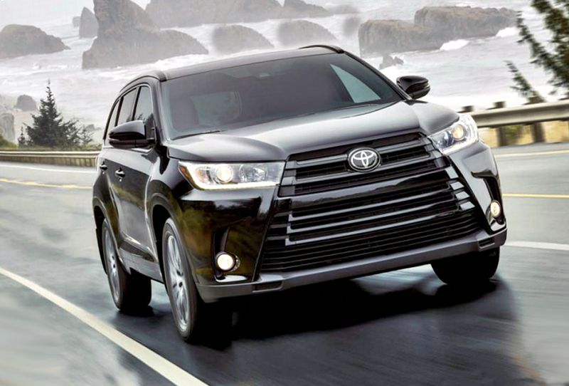 2019 toyota highlander updates vs 2017 xle. Black Bedroom Furniture Sets. Home Design Ideas