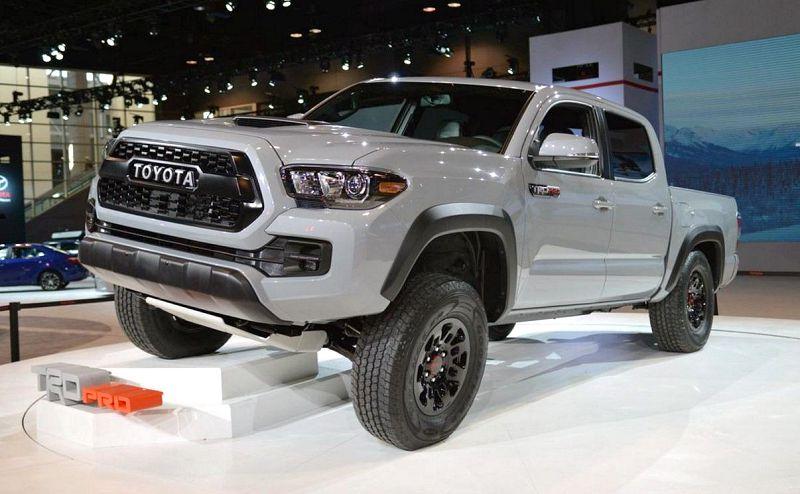 2019 Toyota Tacoma Trd Pro Redesign Spy Photos