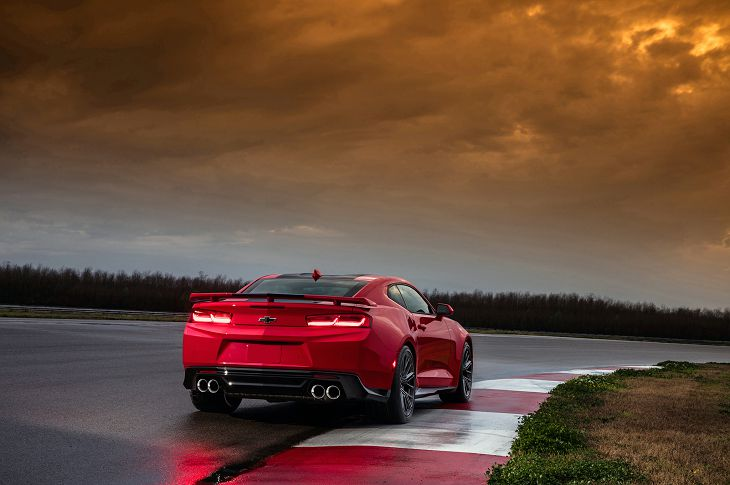 2019 Chevrolet Camaro Zl1 Quarter Mile Time Pret Occasion