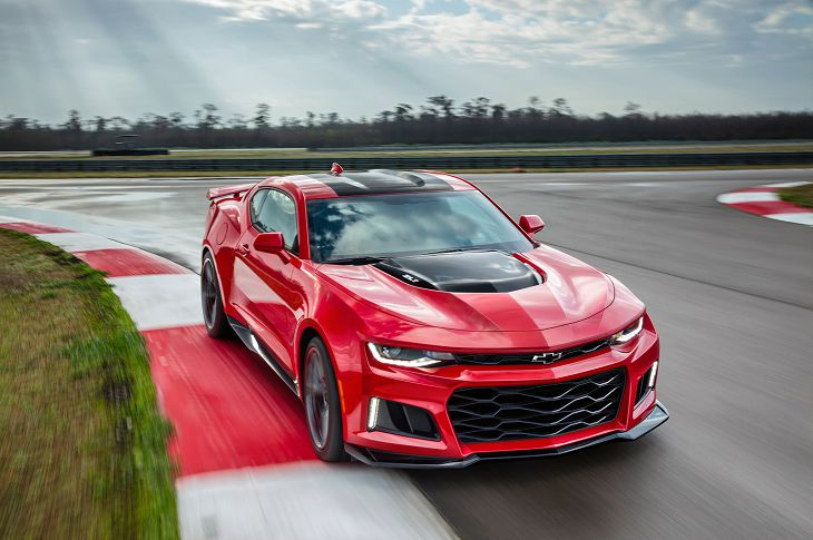 2019 Chevrolet Camaro Zl1 Sound Specifications Speed
