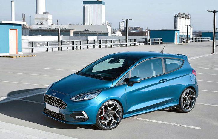 2019 Ford Fiesta St Interior Titanium Usa