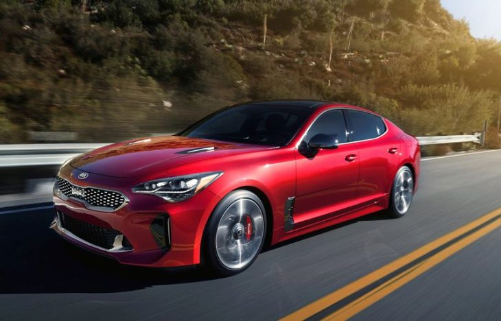 2019 Kia Stinger Colors Canada Blue