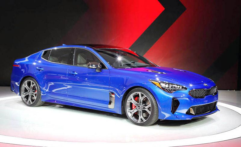 2019 Kia Stinger Images Black Horsepower