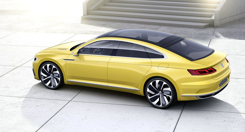 2019 Volkswagen Cc Sport Black Exhaust Engine
