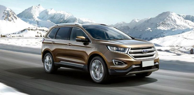 2020 Ford Edge Models Towing Capacity Titanium Colors ...