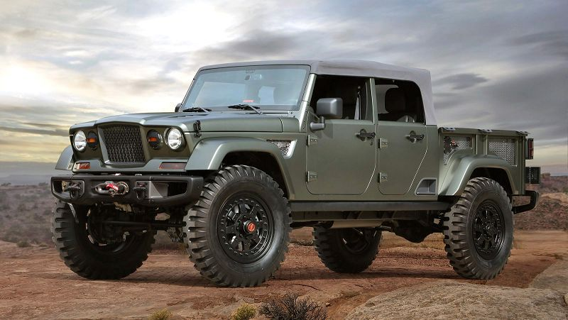 2019 Jeep Wrangler Pickup Truck 2018 2017 Release Date Cost