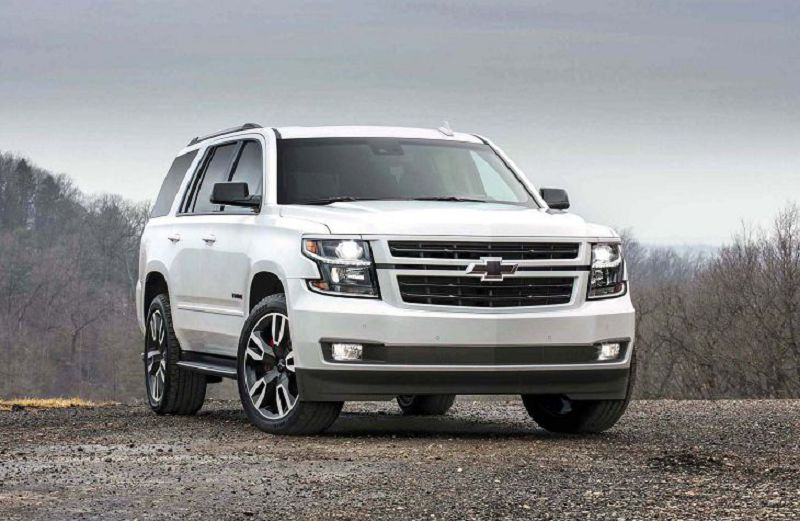 2019 Chevy Tahoe Rst For Sale Premium Red Dimensions