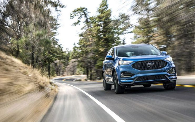 Ford Edge St 2019 Dimensions Ford Suv Edge Used