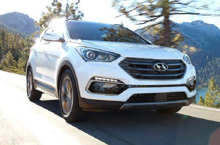 2019 Hyundai Santa Fe Gas Tank Size Nissan Rogue Vs Oil