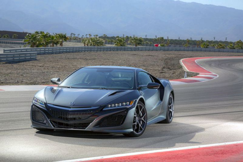 2019 Acura Nsx Mpg 0 60 Specs R Performance