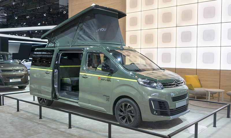 Citroen Spacetourer Rip Curl Concept Prix Shine Specifications Seats