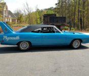 2019 Plymouth Superbird Uk Toy T Shirt Car Blue