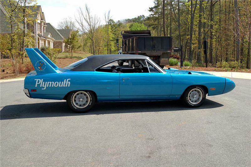 2019 Plymouth Superbird Uk Toy T Shirt Car Blue