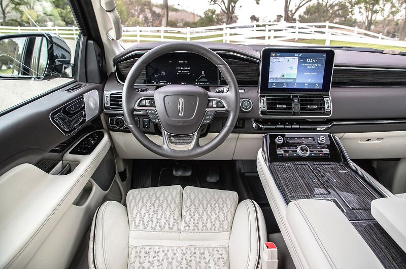 2018 Lincoln Navigator Inside Pictures Photos Images Iced