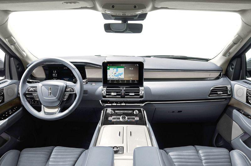 2018 Lincoln Navigator Mocha Ivory Pearl Pics Jackson