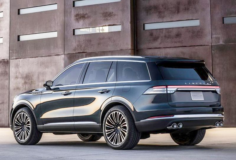 2019 Lincoln Aviator Gas Type Stuck Park Gear