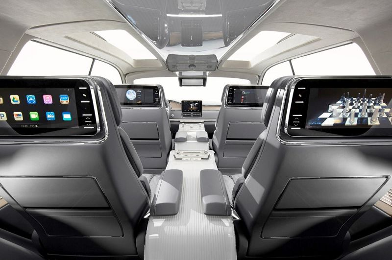 2019 Lincoln Aviator Headers How Much Headlight