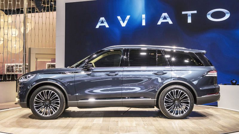 2019 Lincoln Aviator Horsepower Length Lease