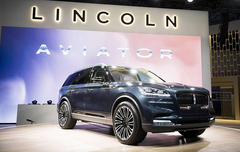 2019 Lincoln Aviator Pics Preview Premium 2007
