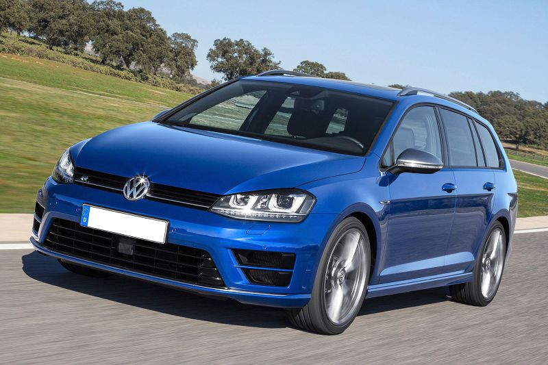 2020 Golf R Brakes Clubsport Cadiz Cargo Space