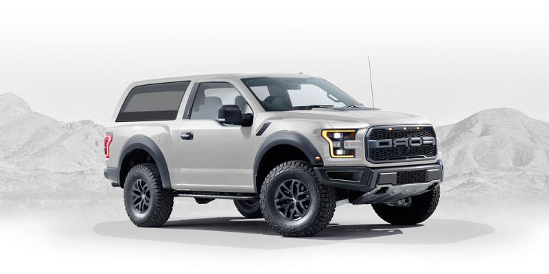 Bronco 2020 Rendering Removable Top Announcement