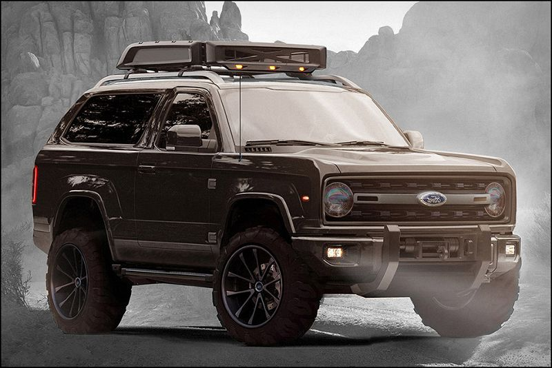 Bronco 2020 Rampage Pictures Range Teaser Towing Capacity ...