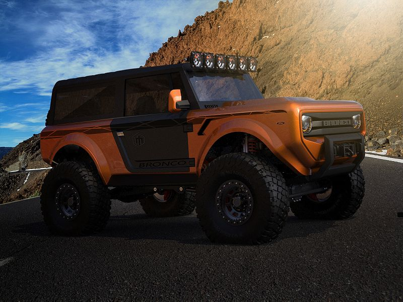 Ford Bronco 2020 Off Road Pre Order Or Prototype