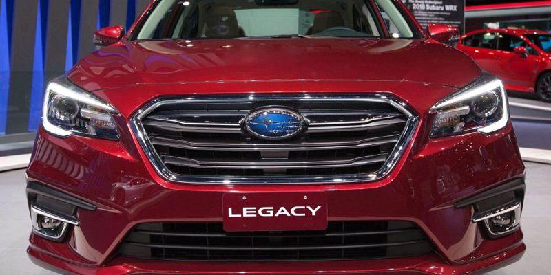 2020 Subaru Legacy Media 50th 555 5th Speed Cylinder